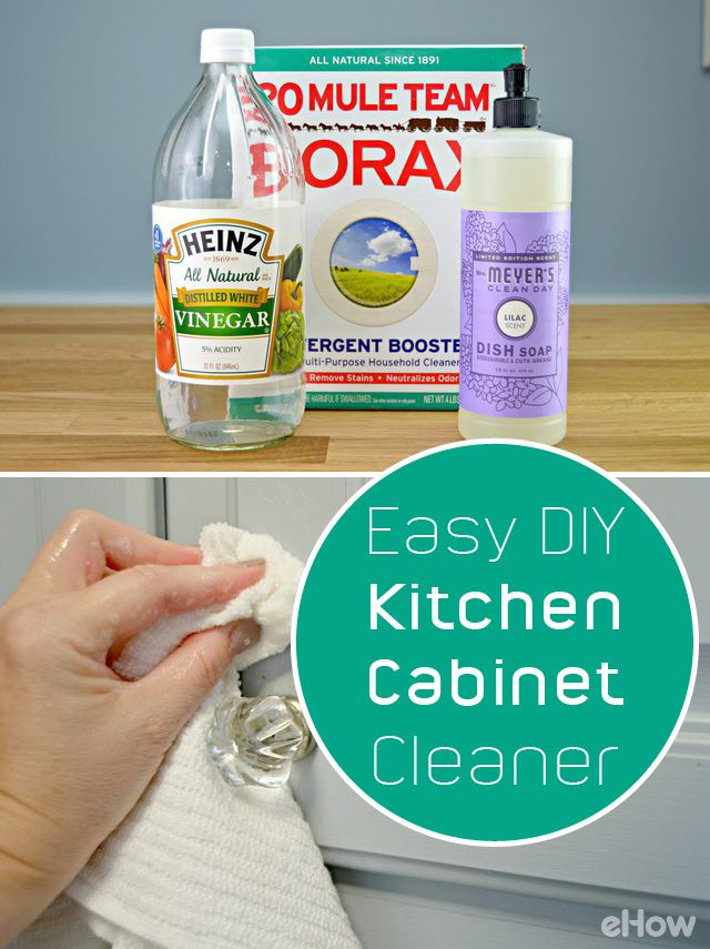 Amazing Easy To Make Homemade Kitchen Cabinet Cleaner