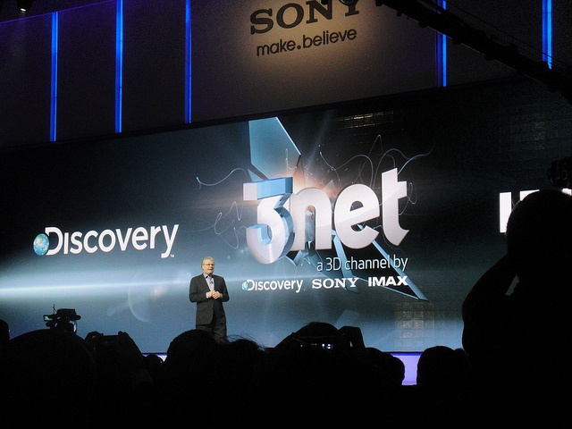 Sony, IMAX, and Discovery Launch 3net Studios for 3D Television Channel