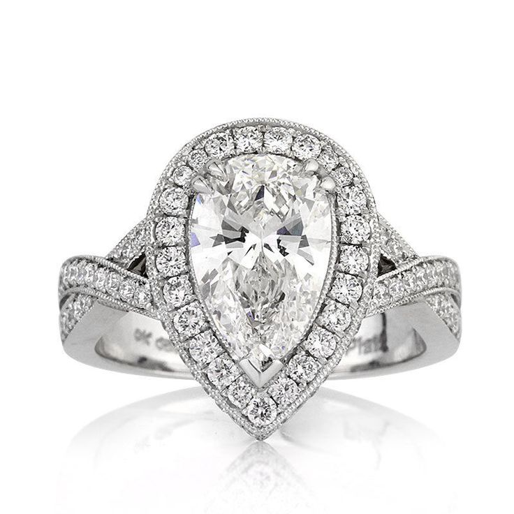 188 best images about Pear Shaped Engagement Rings on Pinterest