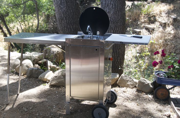 Portable Camping Cooking : Best images about portable outdoor kitchens on
