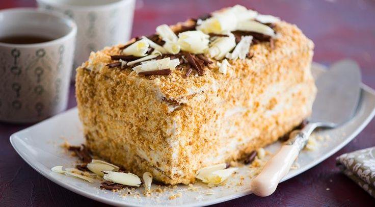 Киевский торт по домашнему рецепту