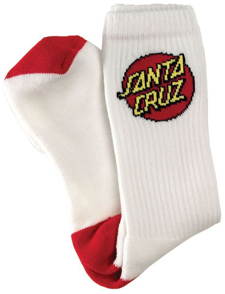 Santa Cruz Skateboards: Accessories: Cruz Crew Socks