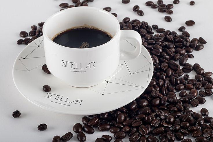Original Mockups - Coffee Cup Mockup 03