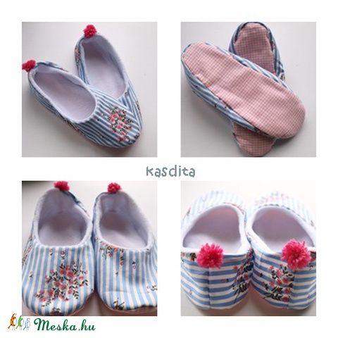 Cseresznyevirágzás  papucs, Ruha, divat, cipő, Cipő, papucs, Meska