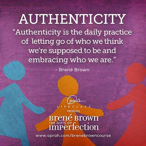The Definition of Authenticity #OLCBreneCourse http://bit.ly/brenecourse pic.twitter.com/q97IG64lpc