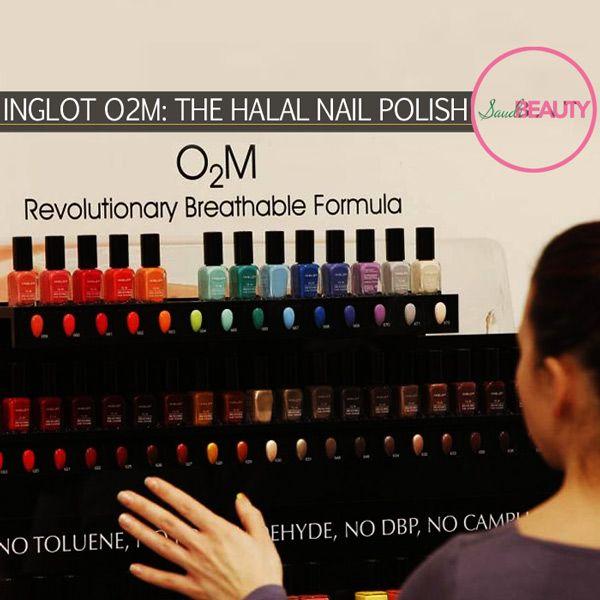 Inglot O2M: The Halal Nail Polish!
