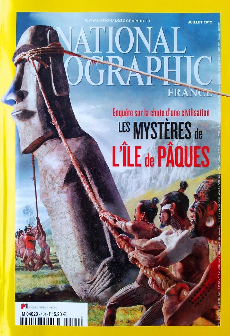 Isla de Pascua (Rapa Nui) es portada en National Geographic