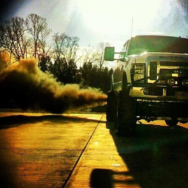 Ford truck roll coal Ford ford ford Pinterest Earth