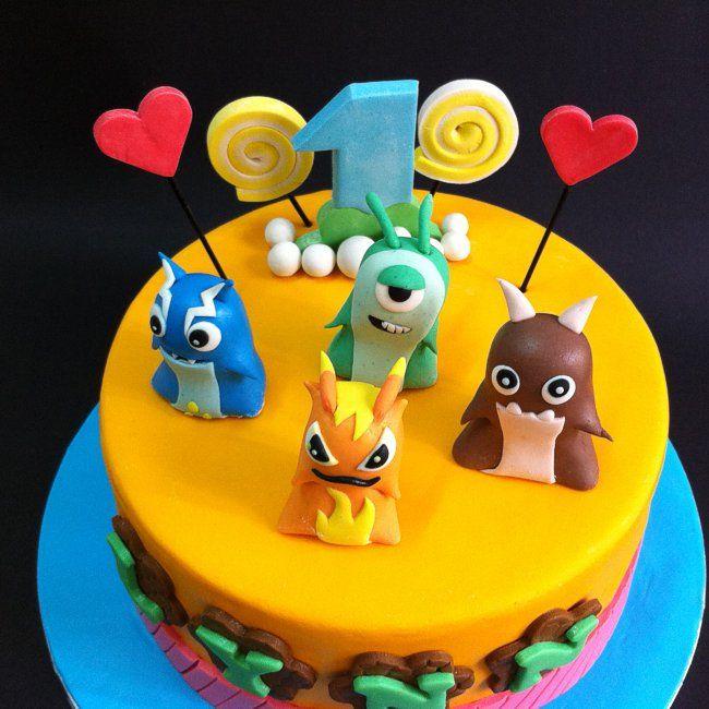 Slugterra cake.