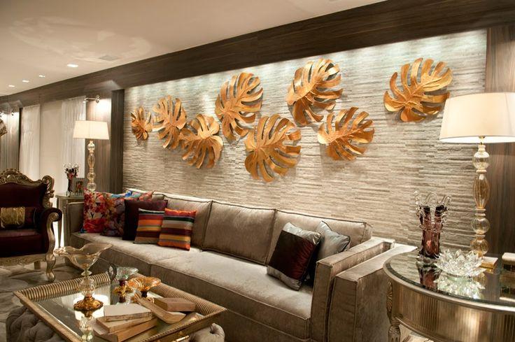 Decor Salteado - Blog de Decoração e Arquitetura : Dourado é tendência na decoração de interiores – saiba como usar!