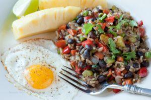 Black Beans Salsa Lizano 74