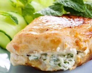 Filets de poulet farcis au basilic et fromage frais 0% : Savoureuse et équilibrée   Fourchette & Bikini