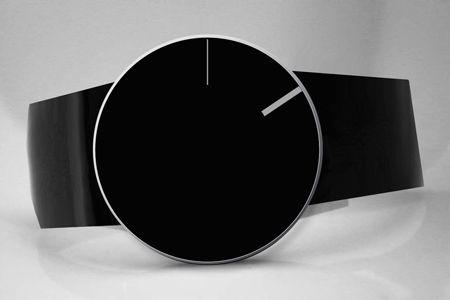 Minimalist wristwatch.