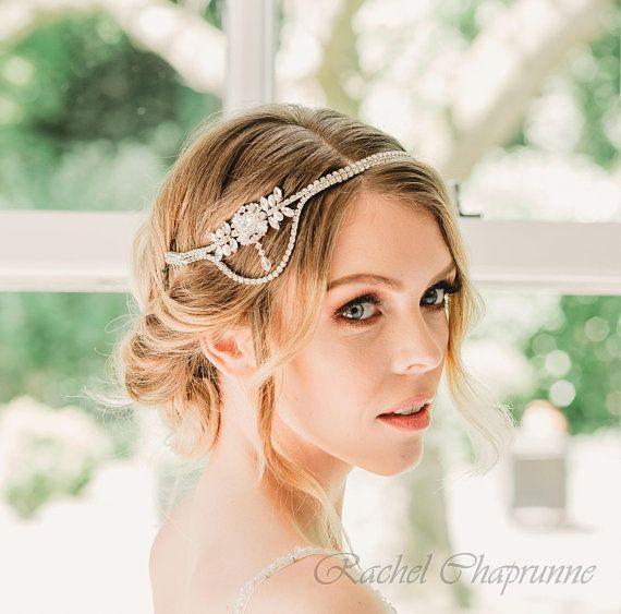 Bridal Hairvine Gatsby Gatsby Bridal Hairvine Art Deco Etsy Bridal Hairpiece Vintage Wedding Headpiece Wedding Headpiece Vintage