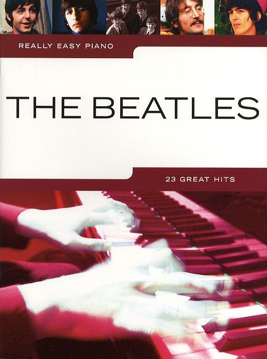 Really Easy Piano: The Beatles - Piano Solo Instrumental Album - Sheet Music & Songbooks - Musicroom.com