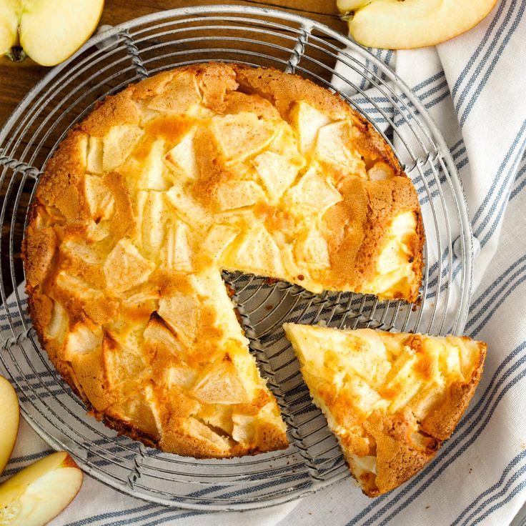 Apfelkuchen geht immer - vor allem wenn es solch ein leckerer und schnell gemachter ist, der auch noch nach einem Hauch Zimt schmeckt...