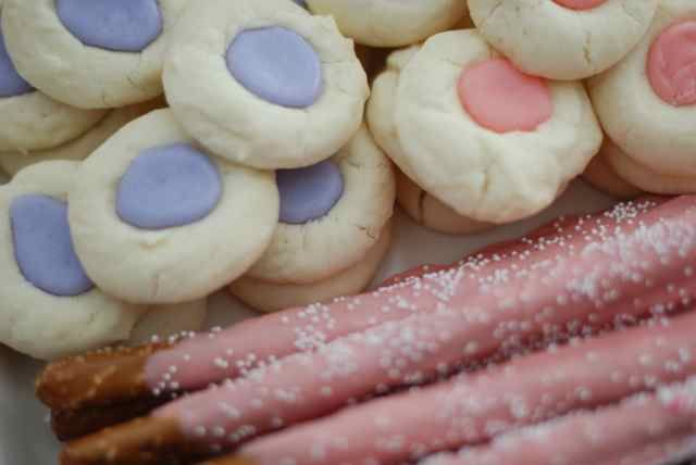 Pretty Pink Sweets {Baby Shower Treats} Perfect for Dessert Bar