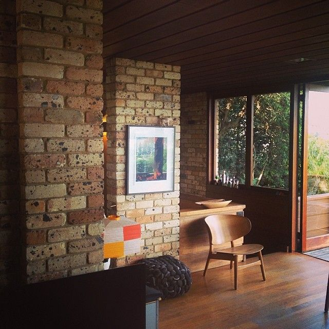 """Afternoon at #architect Bruce Rickard """"Marshall House"""" in Clontarf. Iconic 'Sydney Modern' house. #slmhomes"""