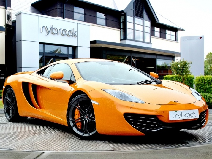 McLaren MP4 12 C: £160000 from Trusted Dealers