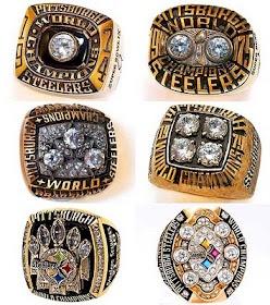 Super Bowl rings pittsburgh steelers