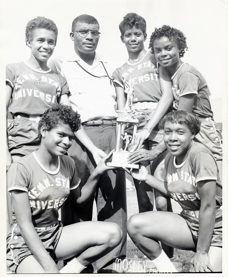 1958, Ed Temple and the Tigerbelles