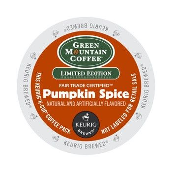 Green Mountain Coffee Pumpkin Spice K-Cup® this delectable seasonal rich mild roast coffee with its savory pumpkin and subtle spice flavors, brews up fresh and aromatic.