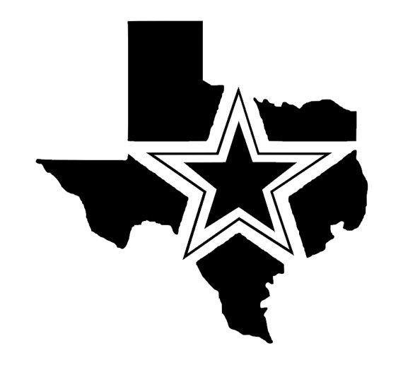 This listing is for a custom DALLAS COWBOYS vinyl decal.    This is a die cut decal so there is no background, just the design.    Please choose your