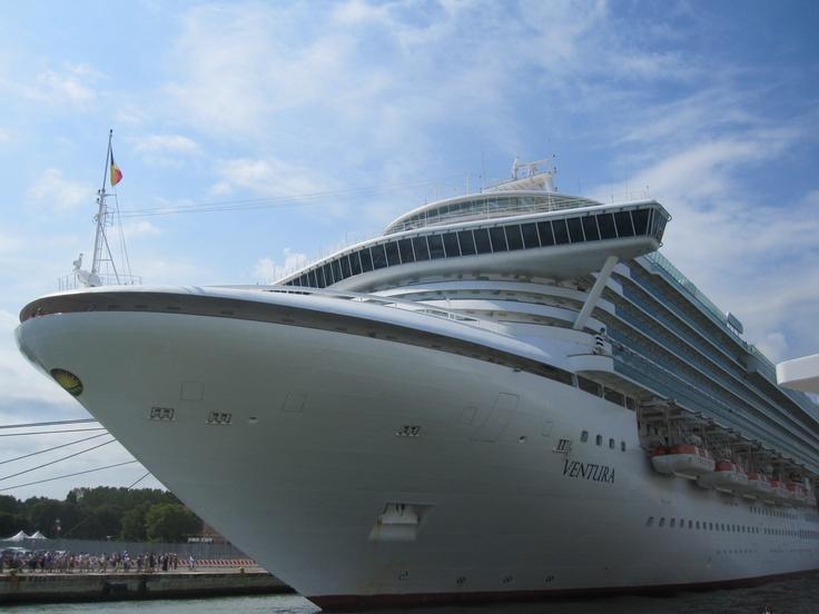 @pandocruises Ventura docked in #Venice