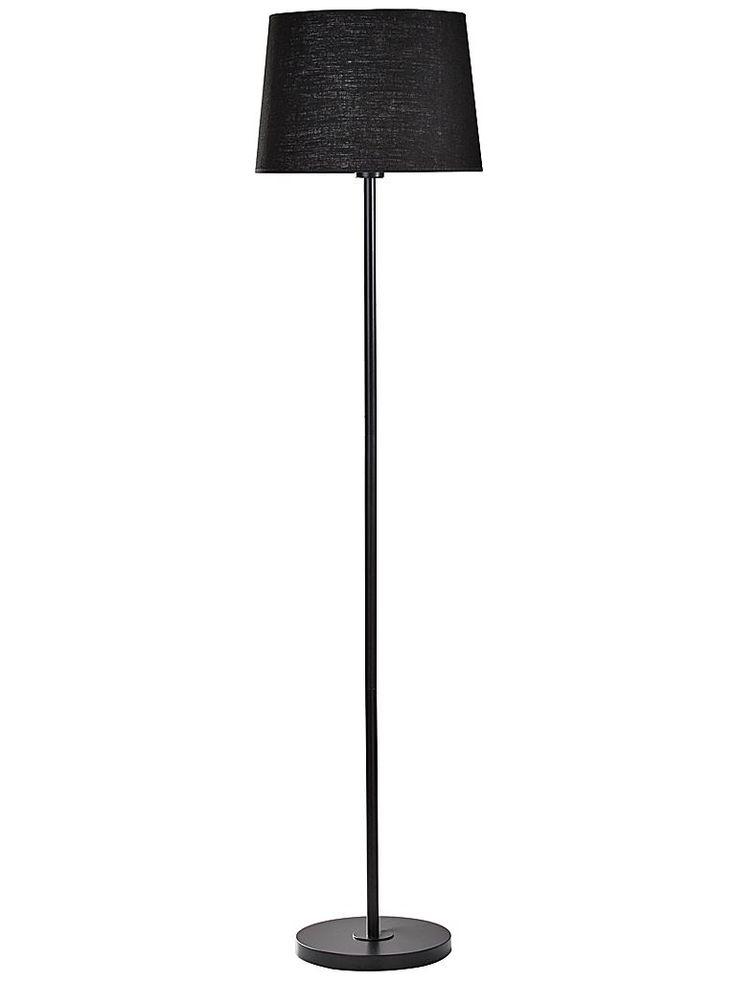 Svart golvlampa PR Home Cia 1 379-1BK-180