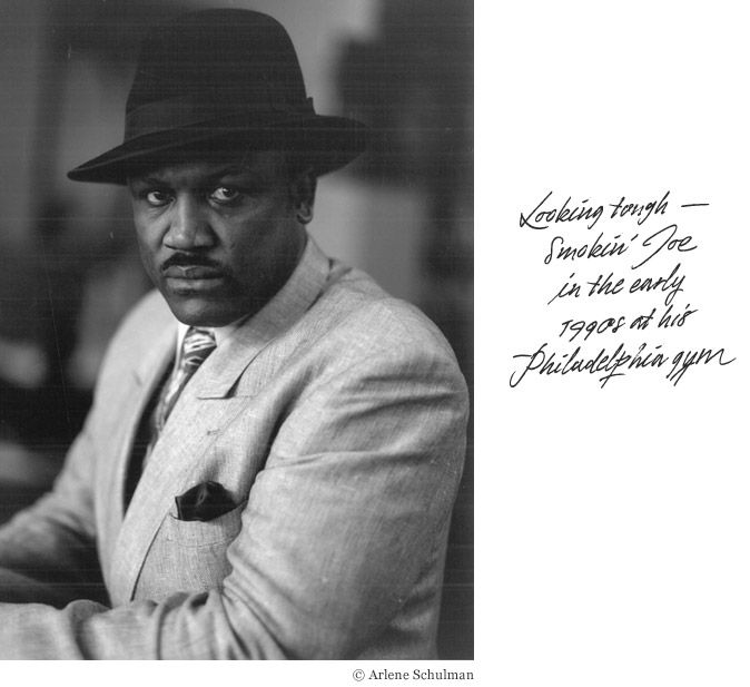 "MR JOE FRAZIER  The great boxer, who was narrowly defeated by Mr Muhammad Ali in the classic ""Thrilla in Manila"" bout in October 1975, enthusiastically embraced the fashions of the 1970s (including foot-wide lapels and platform shoes), but occasionally created a clothing ensemble every bit as devastating as the combinations he threw at his opponents in the ring."