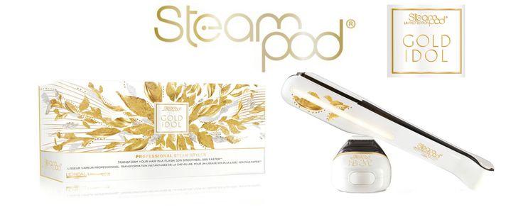 Η κορυφαία steam pod Version 2 σε Gold Idol Edition σε περιορισμένα κομμάτια.