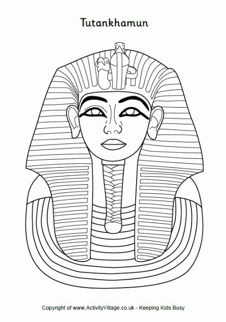King Tut Coloring Page Luxury King Tut Coloring Page Ancient Egypt For Kids Ancient Egypt Art Egypt Crafts Ancient Egypt Map