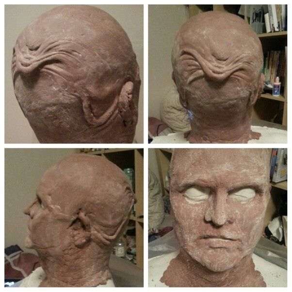 Pinhead sculpt wip