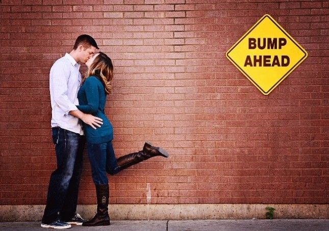 15 Creative Pregnancy Photo Ideas via Brit + Co.