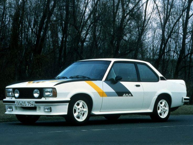 Opel Ascona 400 rally car
