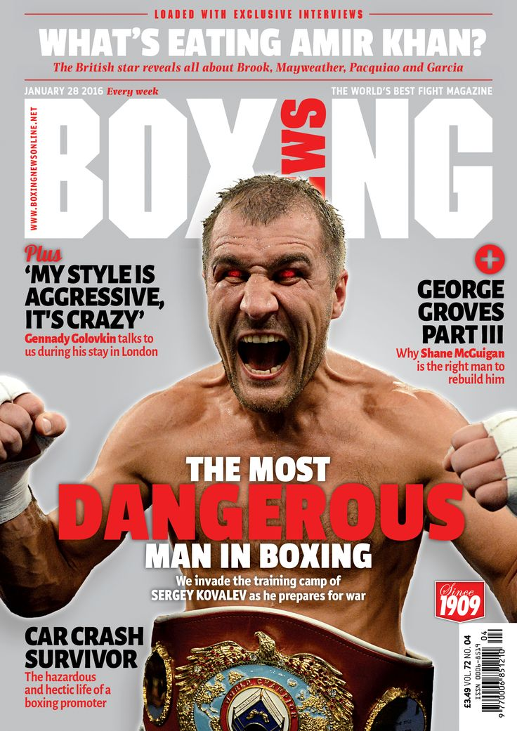 The most dangerous man in boxing The latest issue of Boxing News is out now on our app, see: www.boxingnewsonline.net/digitalsubs and on all good newstands this Thursday
