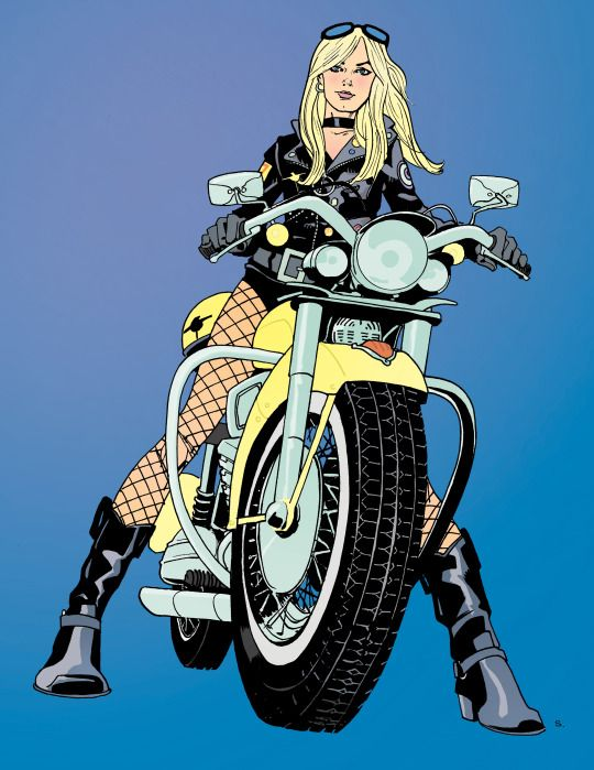 Black Canary by Sandy Jarrell