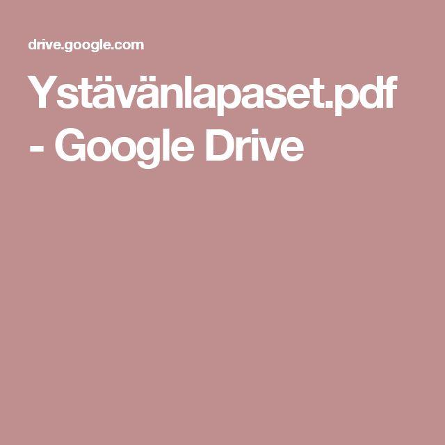 Ystävänlapaset.pdf - Google Drive