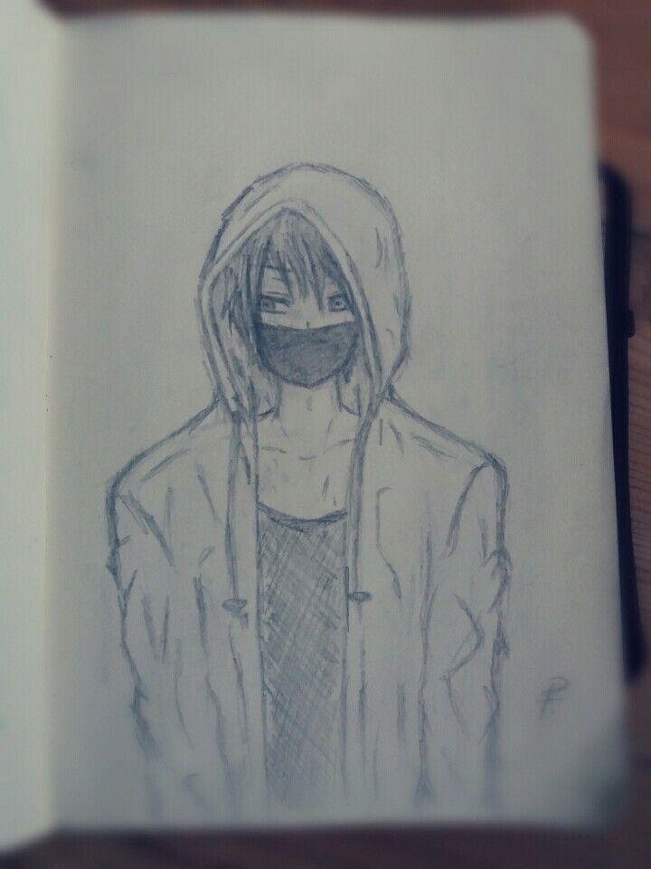 My Random Anime Boy Sketch
