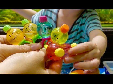 Малыш Инопланетянин вылупляется / Детские кольца с мыльными пузырями, во...