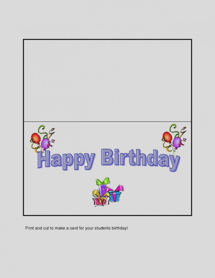 Printable Birthday Cards Online Free