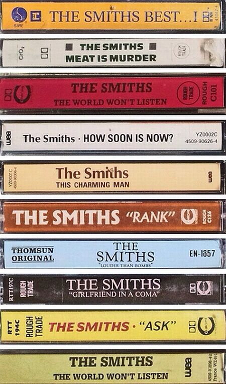 So technically this is eighties, but I listened to hella lot of smiths in the nineties. Morrissey truly GOT me, man.