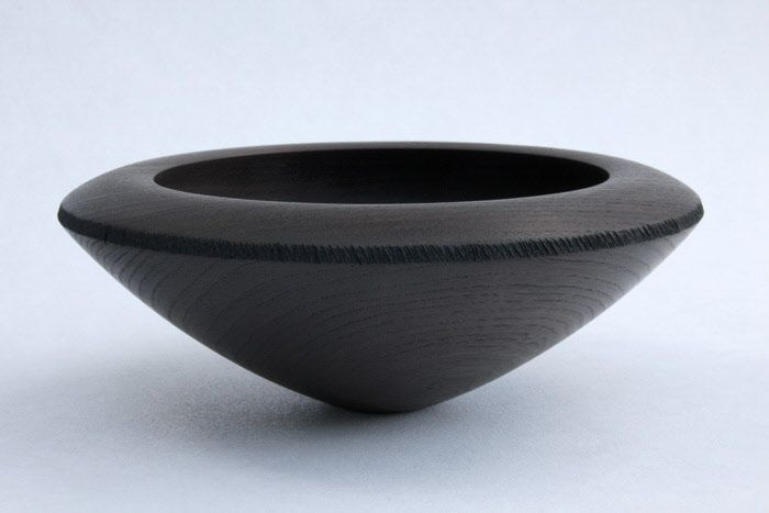 turned bowl