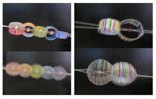 ブンブンゴマの変形です。 このおもちゃの動画:https://www.youtube.com/watch?v=qbI2iPlakIo    【おもちゃおじさん】