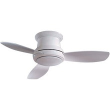 27 best ceiling fans images on pinterest blankets ceilings and buy the minkaaire undefined white direct shop for the minkaaire undefined white 3 blade concept ii flushmount ceiling fan integrated light aloadofball Images
