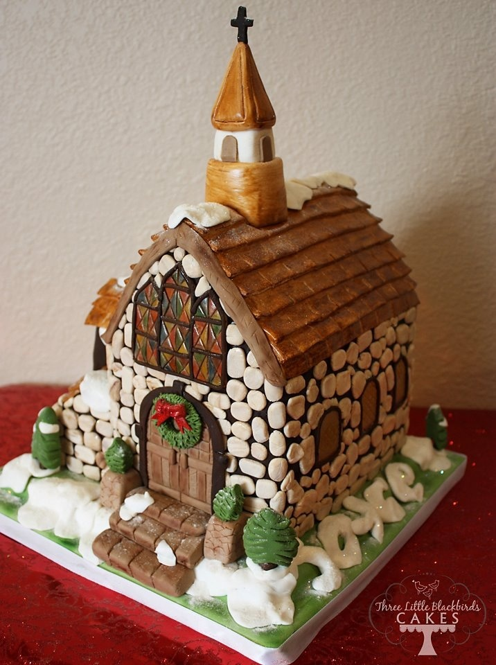 14 best Church cake images on Pinterest Gingerbread ...