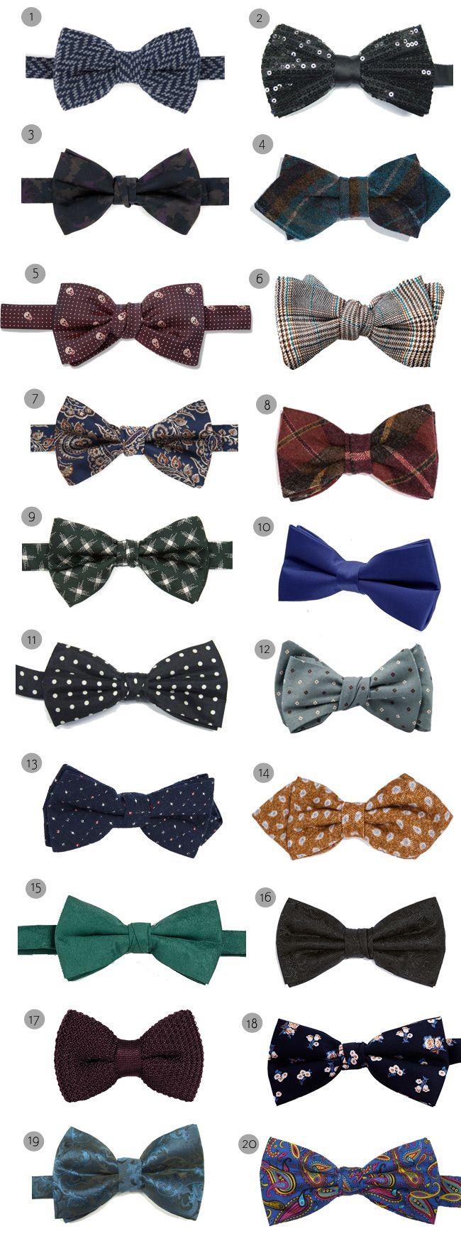 Groom Style: Bow Ties for the Boys | weddingsonline