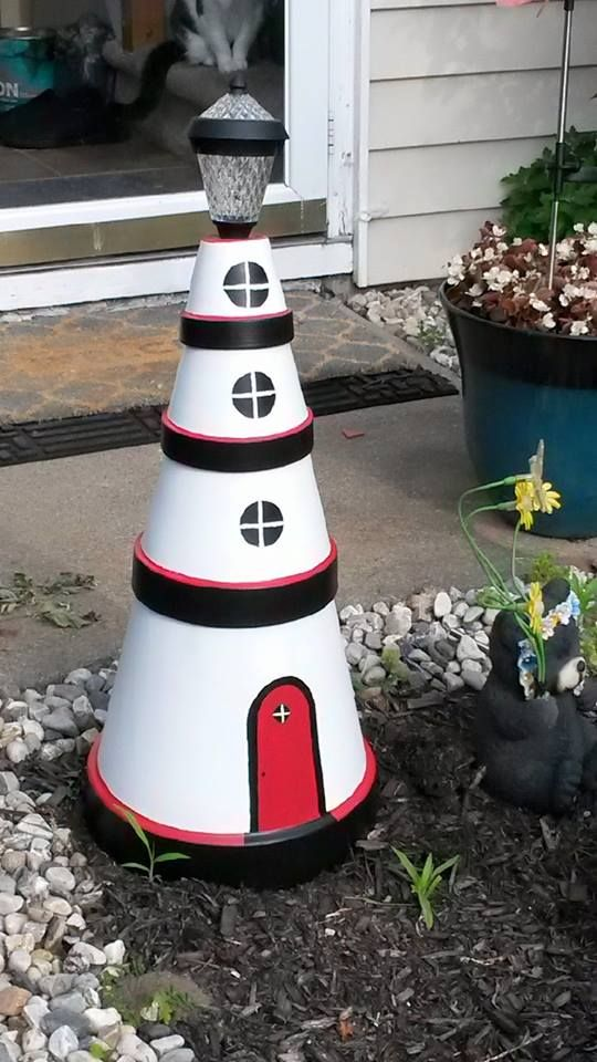 lighthouse craft ideas clay pot lighthouse craft ideas clay pot 2348