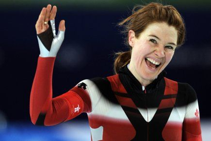 Clara Hughes. The only athlete in the 114-year history of the modern day Olympics ever to win multiple medals in both the Summer and Winter Olympic Games. And she's Canadian!