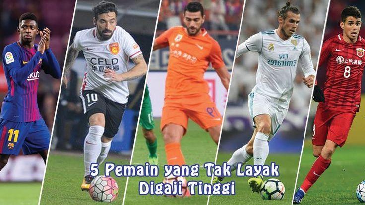5 Pemain yang Tak Layak Digaji Tinggi